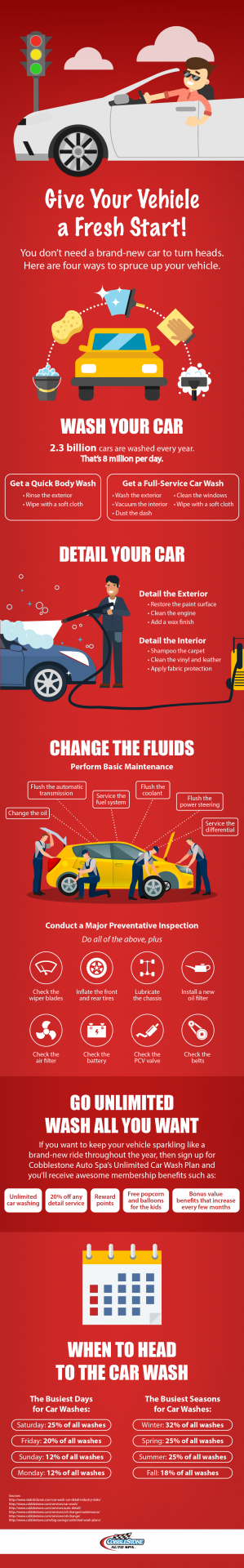 Give Your Vehicle a Fresh Start